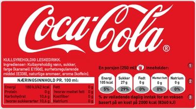 Sukkerbiter i cola